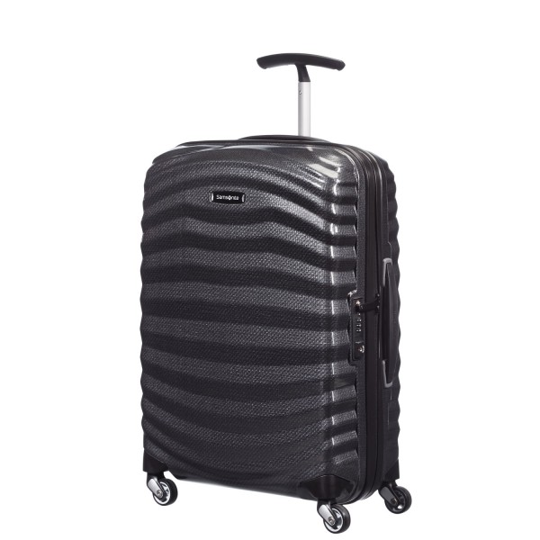 Samsonite Lite-Shock 4-Rollen Bordtrolley 55 Maße (BxHxT): 40cm x 55cm x 20cm Gew
