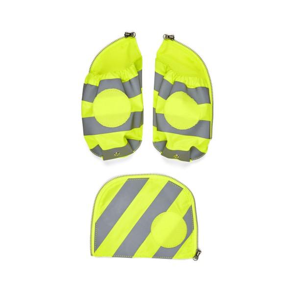 Ergobag Seitentaschen-Set mit Reflektorstreifen