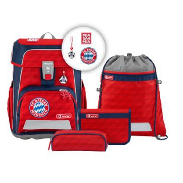 Step by Step Cloud FC Bayern - Schulranzen-Set 5-teilig