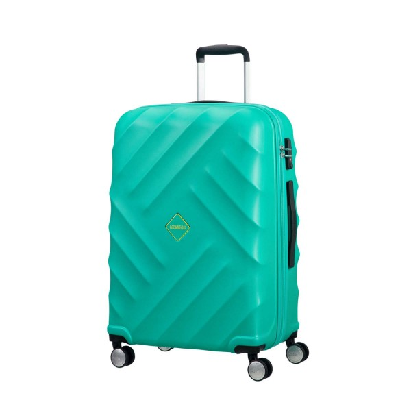 American Tourister Crystal Glow Trolley 66