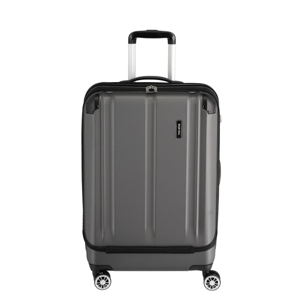 Travelite City 4-Rollen Trolley M mit Vortasche