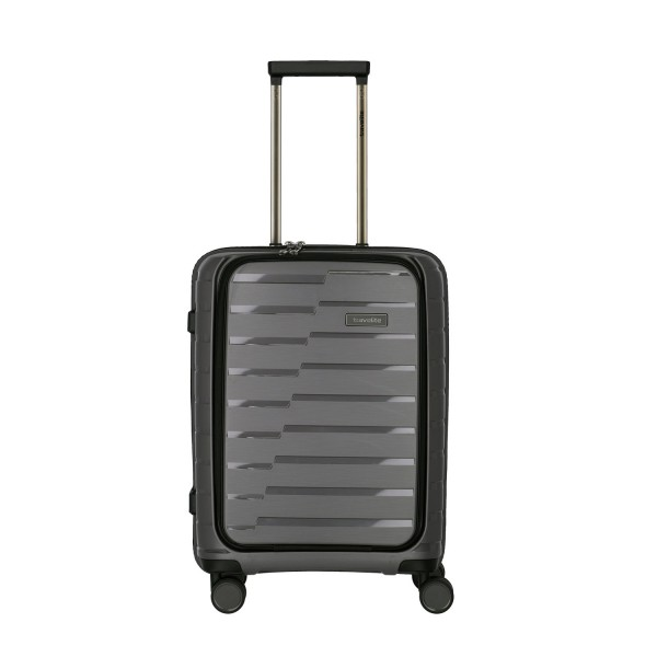 Travelite Air Base 4-Rollen S mit Vortasche